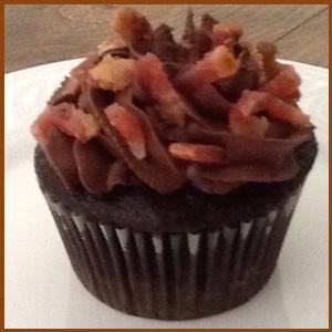 Chocolate lavender bundt cake